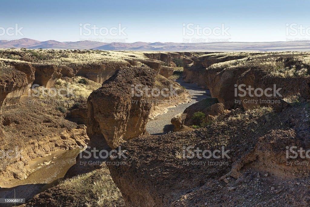 canyon Sesriem, Namibia stock photo