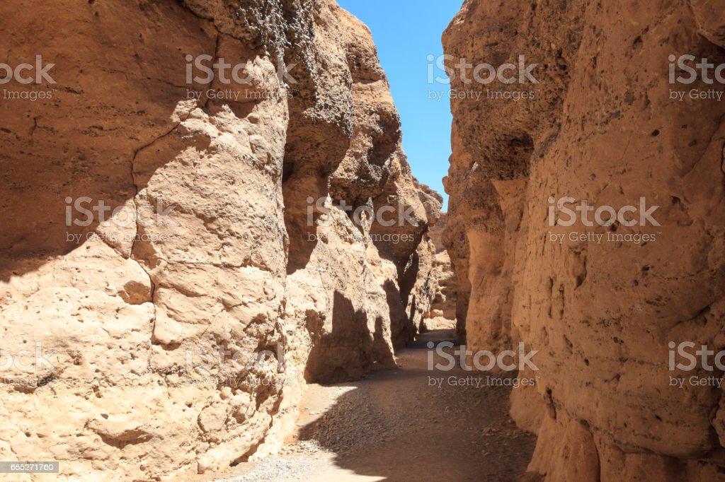 Canyon Sossusvlei Namibia stock photo