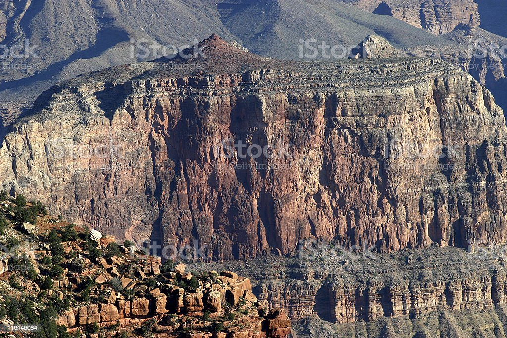 Canyon Striations royalty-free stock photo
