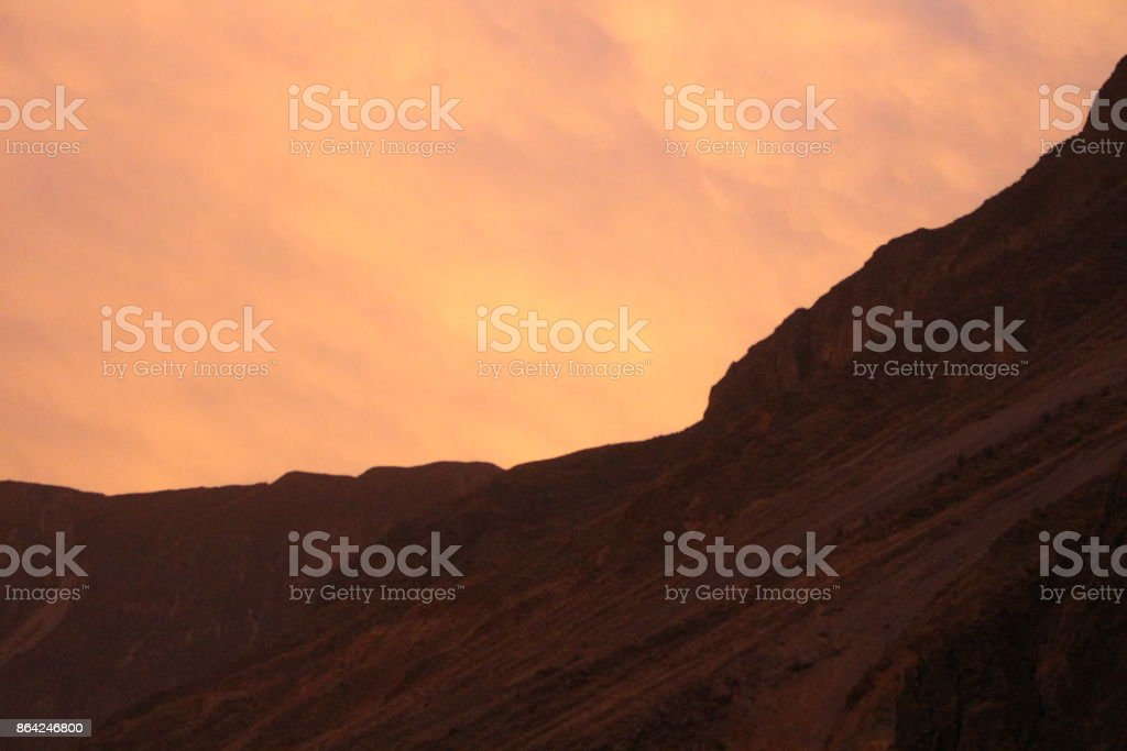 Canyon Sunset royalty-free stock photo