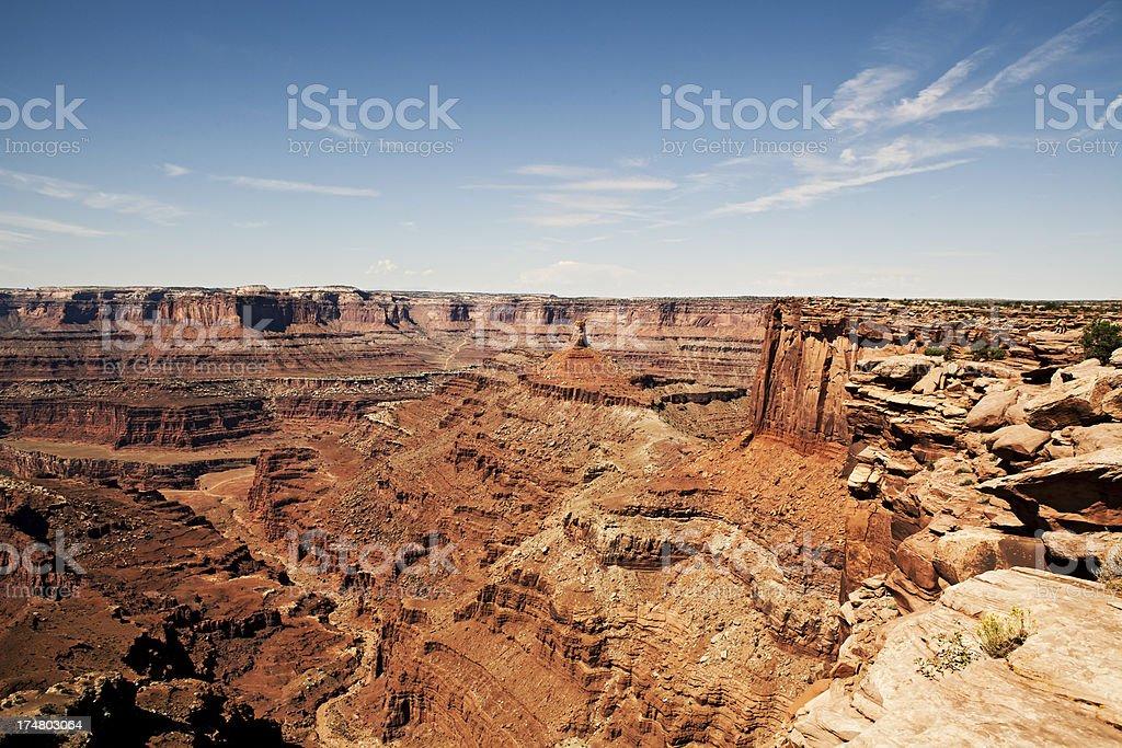Canyonland National Park USA royalty-free stock photo
