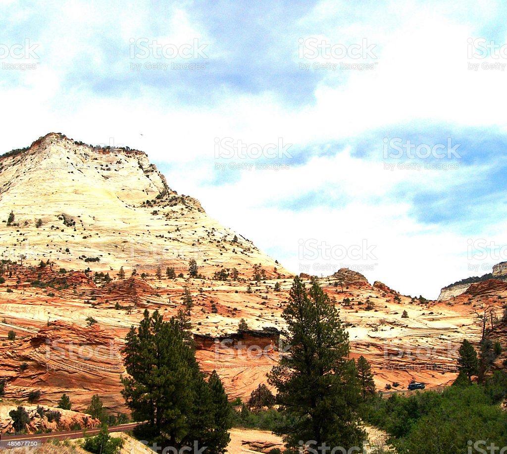 Canyonland stock photo