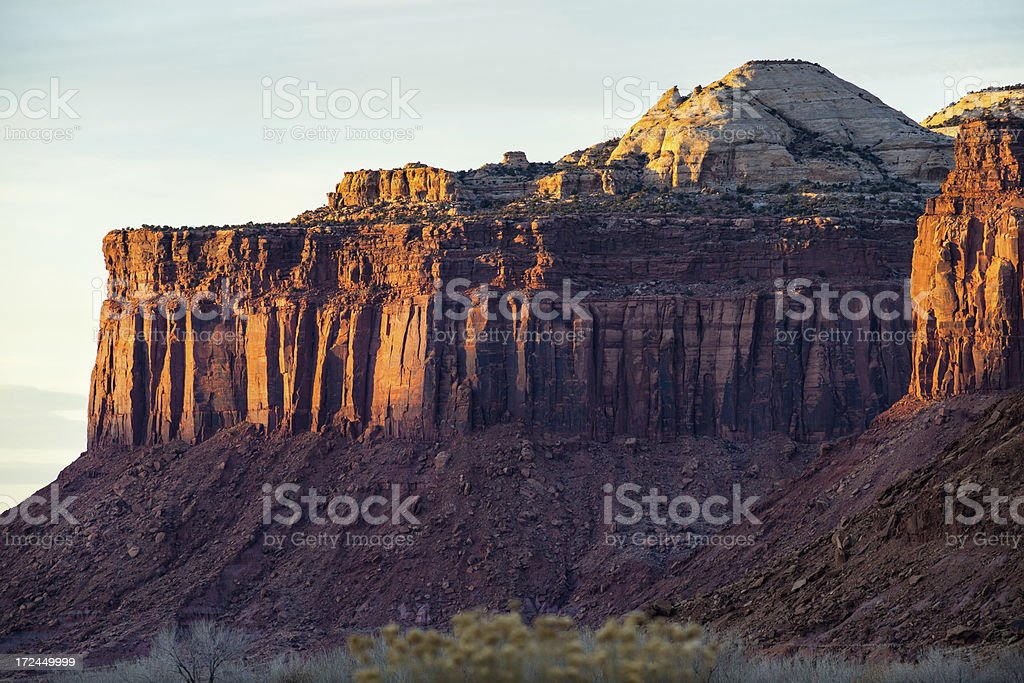 Canyonlands National Park Canyon Landscape stock photo