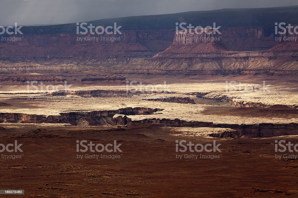 Canyonlands National Park, Colorado River, Utah. royalty-free stock photo