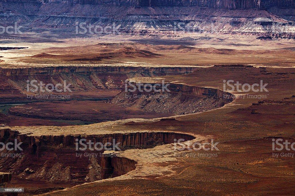 Canyonlands National Park, Colorado River, Utah. stock photo