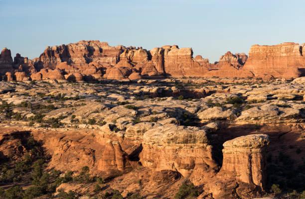 Canyonlands National Park Needles District Utah stock photo