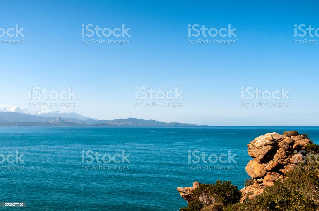 cap Corse stock photo