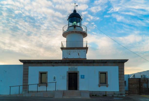 Cap de Creus Lighthouse, Catalonia / Spain stock photo