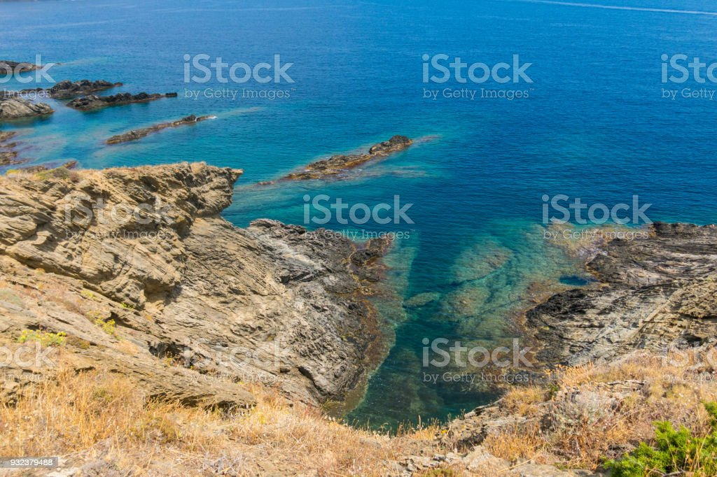 Cap de Creus Natural Park, the westernmost point of Spain. Spain stock photo