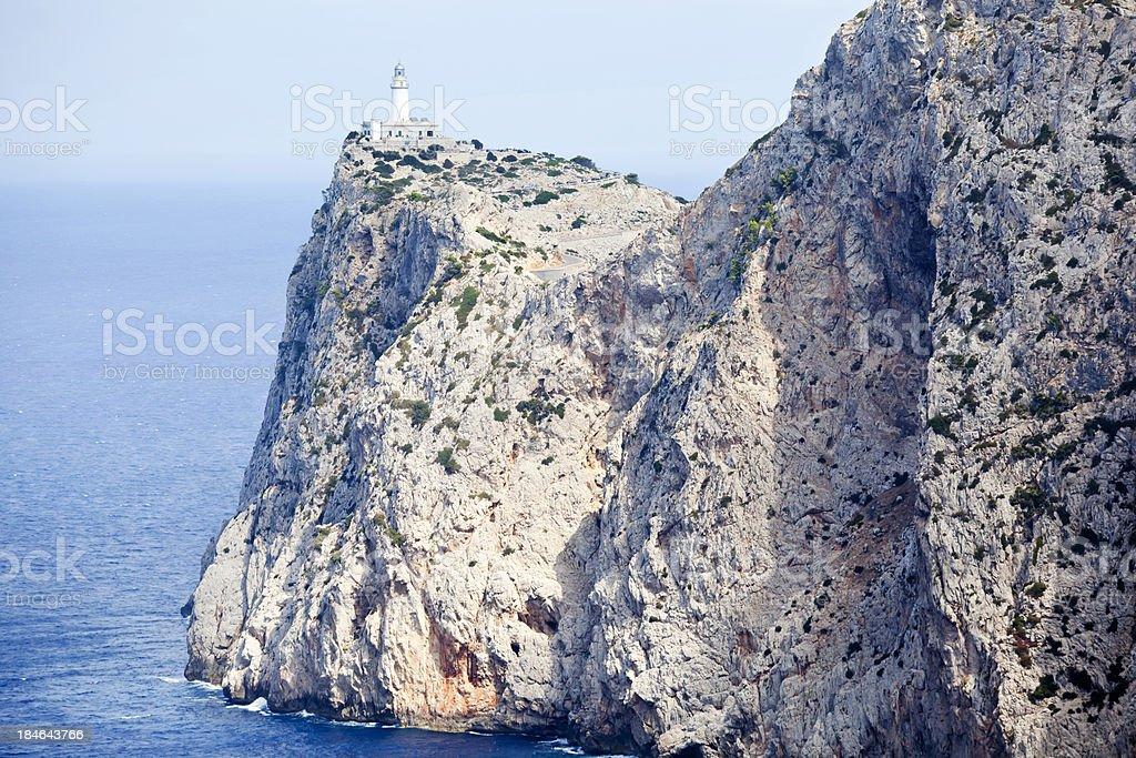 Cap de Formentor Majorca stock photo