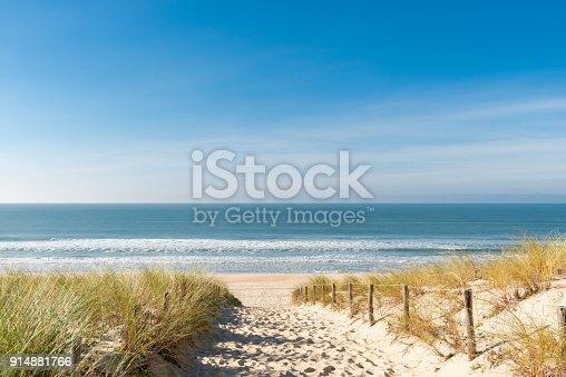 Accès à la plage des Dunes au Cap Ferret