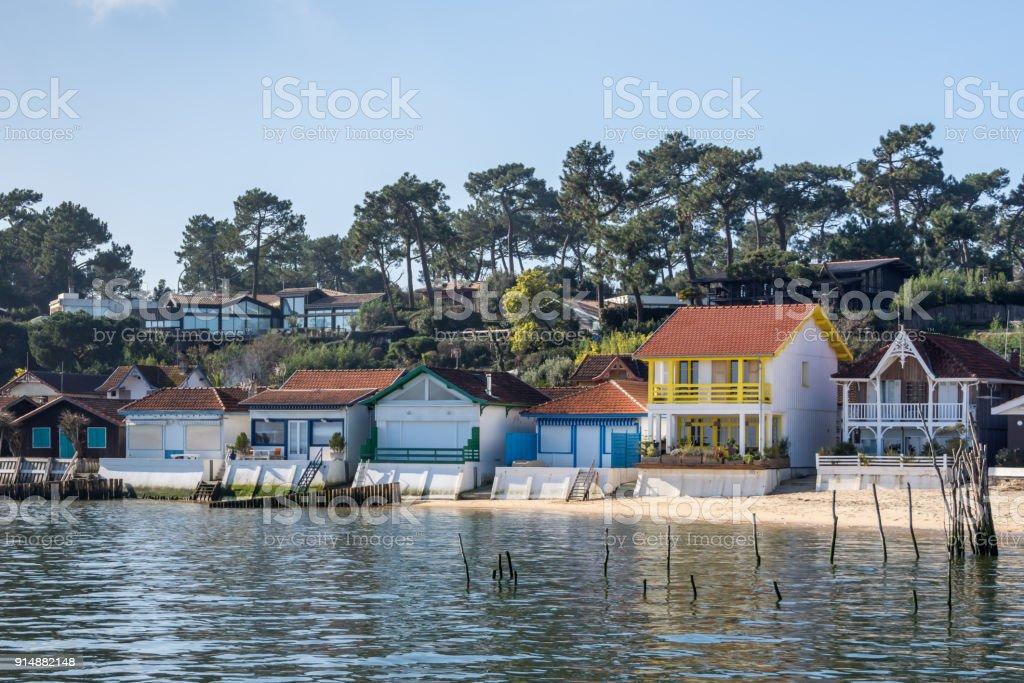 Cap Ferret (Bassin d'Arcachon, France), le village classé de l'herbe - Photo