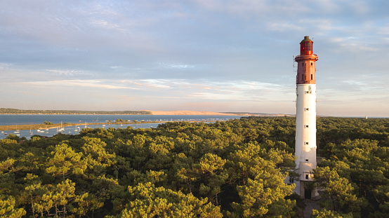 Cap Ferret Lighthouse Stock Photo - Download Image Now