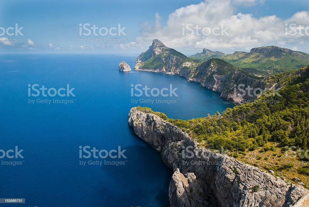 Cap Formentor, Majorca, Spain stock photo