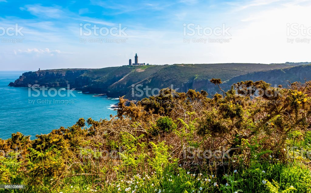 Cap Frehel in Brittany royalty-free stock photo
