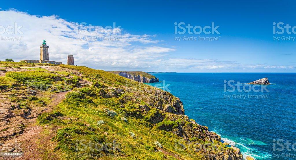 Cap Frehel peninsula, Bretagne, France stock photo