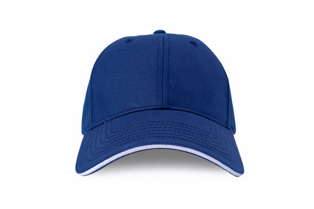 cap isolated on white background. baseball cap - czapka zdjęcia i obrazy z banku zdjęć