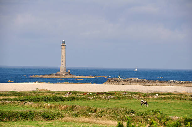 Cap La Hague in France Cap La Hague in France manche stock pictures, royalty-free photos & images