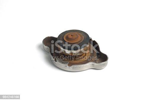 istock Cap of car radiator. 934246166