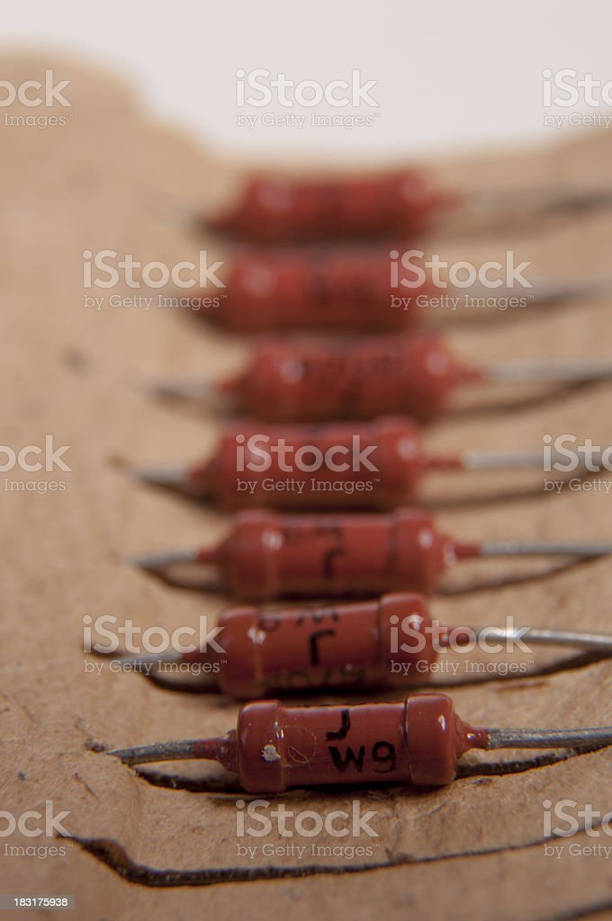 Capacitor royalty-free stock photo