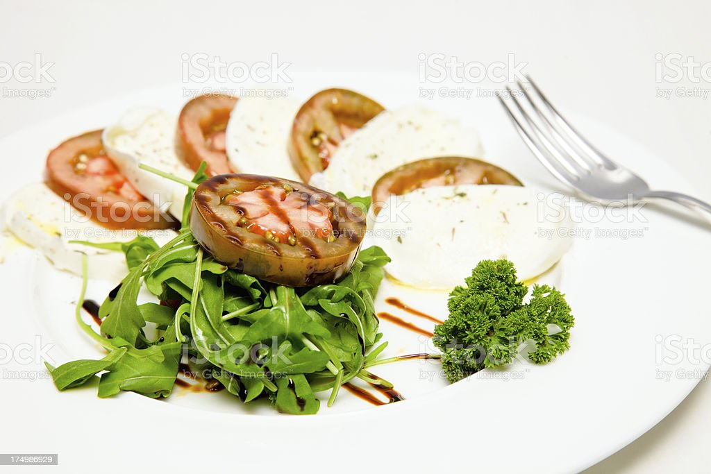 Caparese salad stock photo