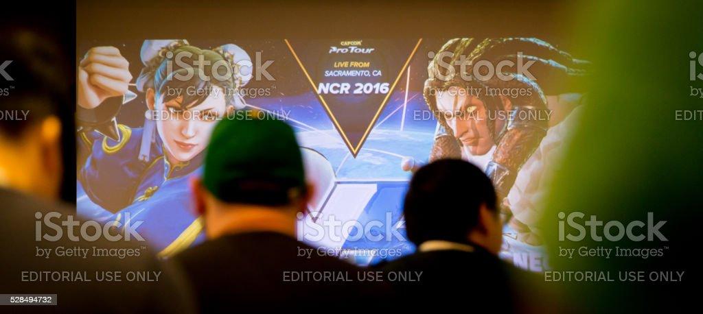 Capcom Cup Tour Norcal Regionals Street Fighter V Versus Screen