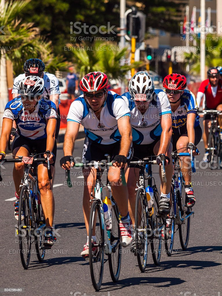 Cape Argus Cycle Tour in Cape Town, South Africa stock photo