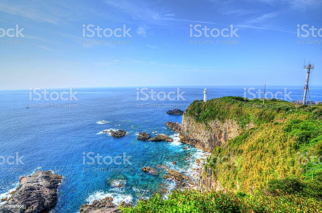 Cape Ashizuri stock photo