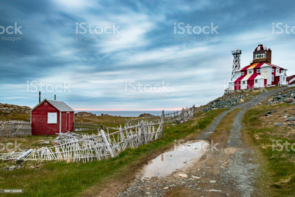 Cape Bonavista Lighthouse stock photo