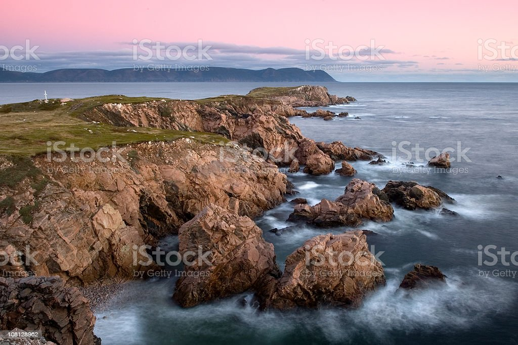 Cape Breton Coast stock photo