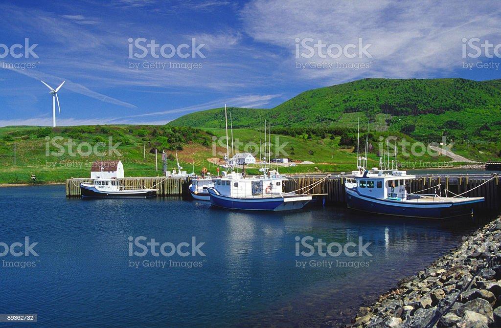 Île du Cap-Breton photo libre de droits