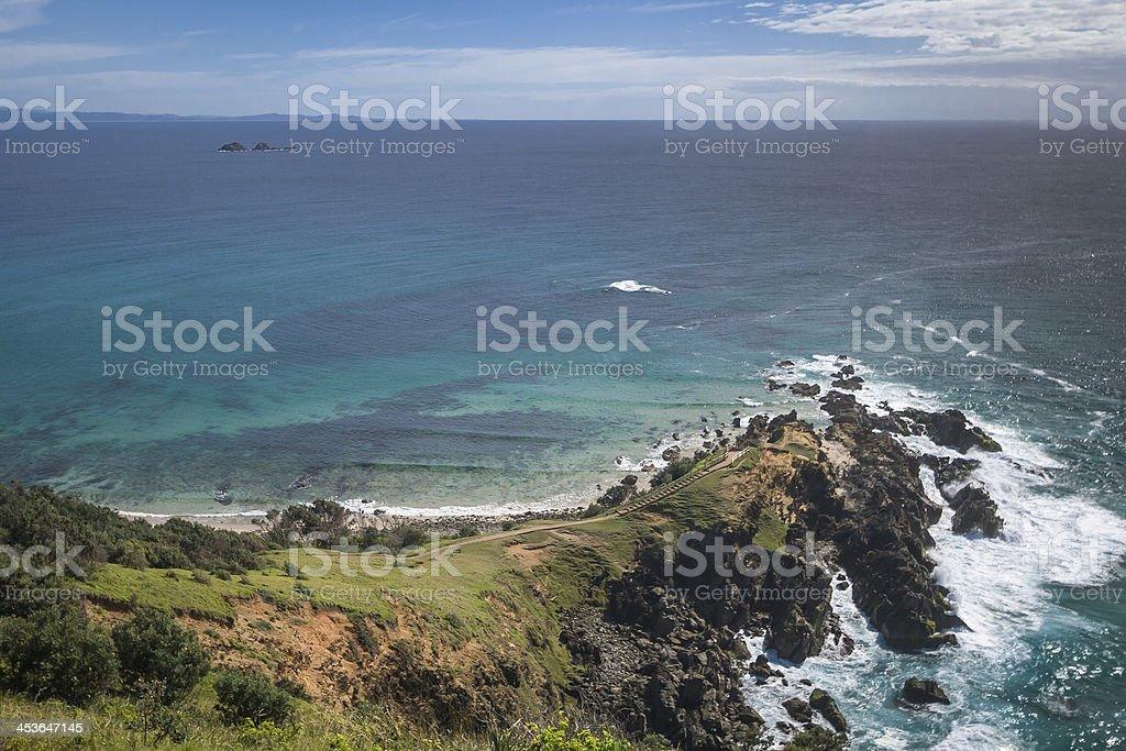 Cape Byron stock photo