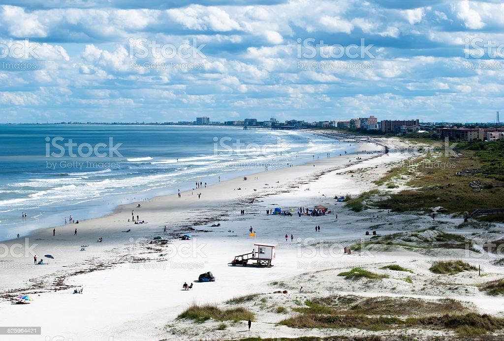 Cape Canaveral Beach stock photo