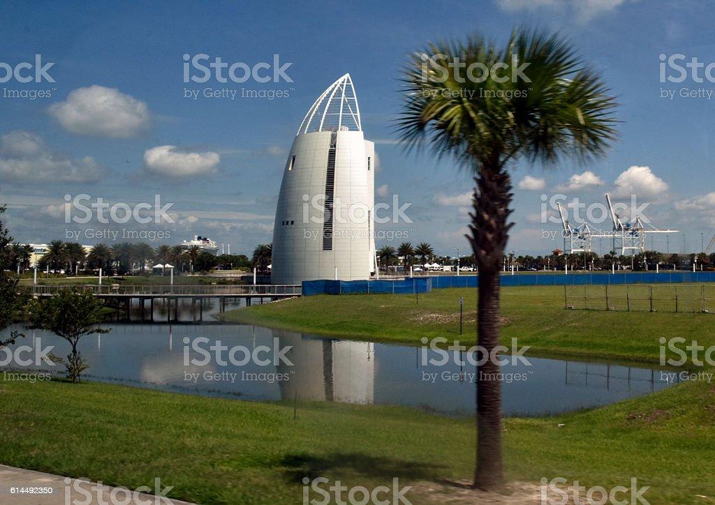 Cape Canaveral Florida stock photo