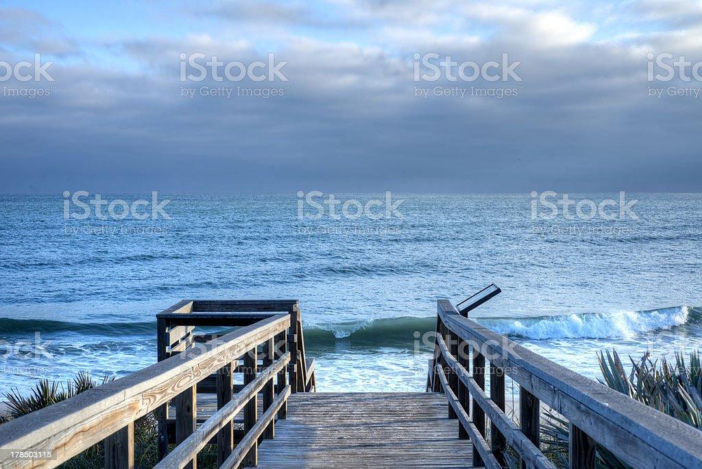 Cape Canaveral National Seashore stock photo