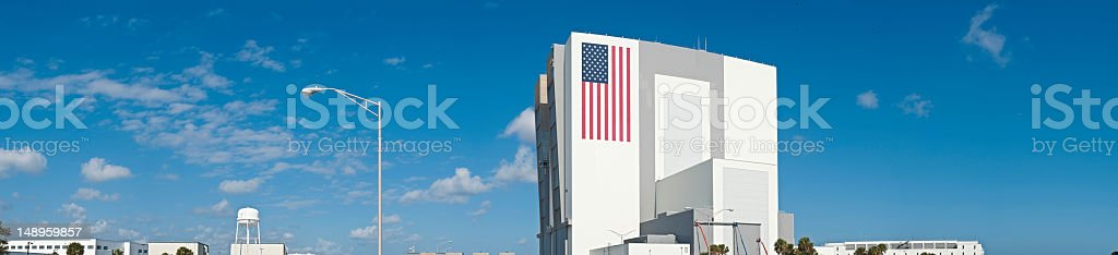 NASA Cape Canaveral VAB space center stock photo