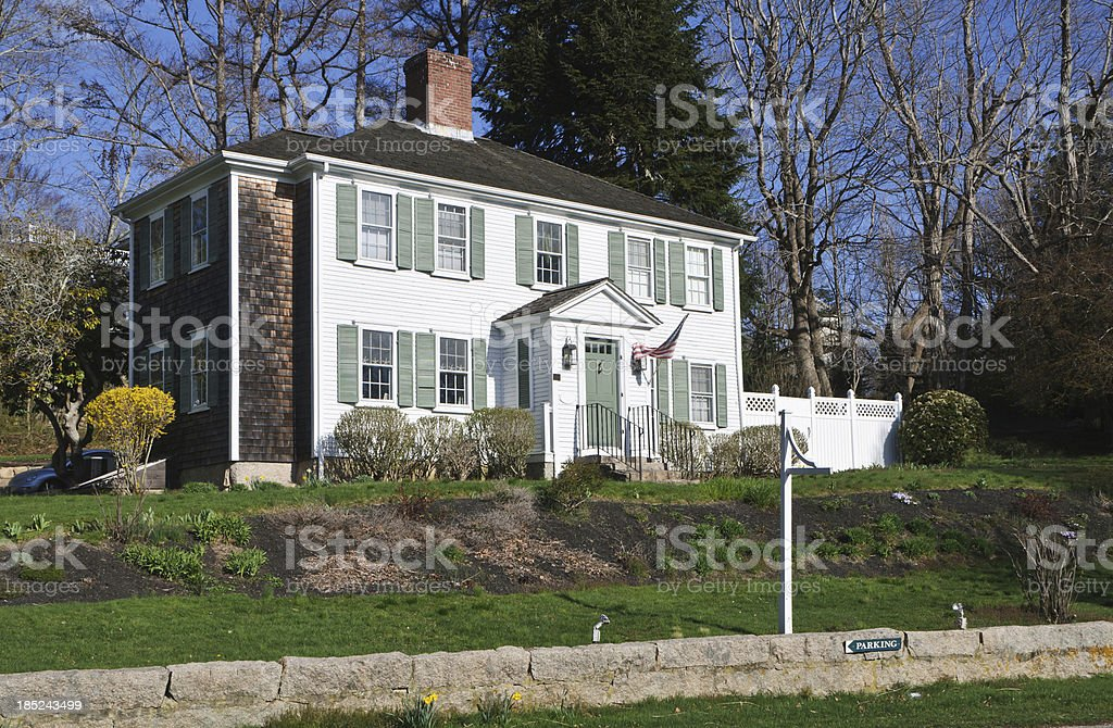 Cape Cod B&B stock photo