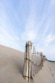 istock Cape Cod Beach Fence 488114974