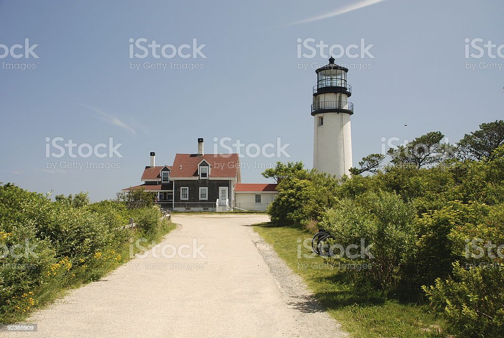Cape Cod Light royalty-free stock photo