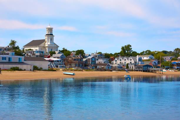 Cape Cod Provincetown beach Massachusetts stock photo