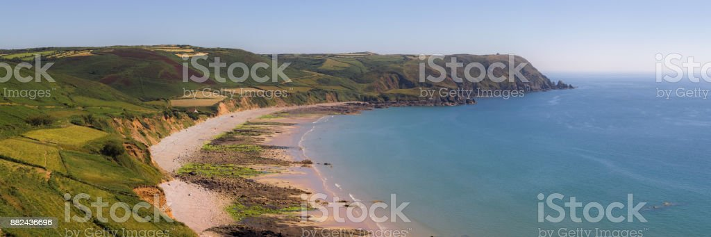 Cape Cotentin stock photo