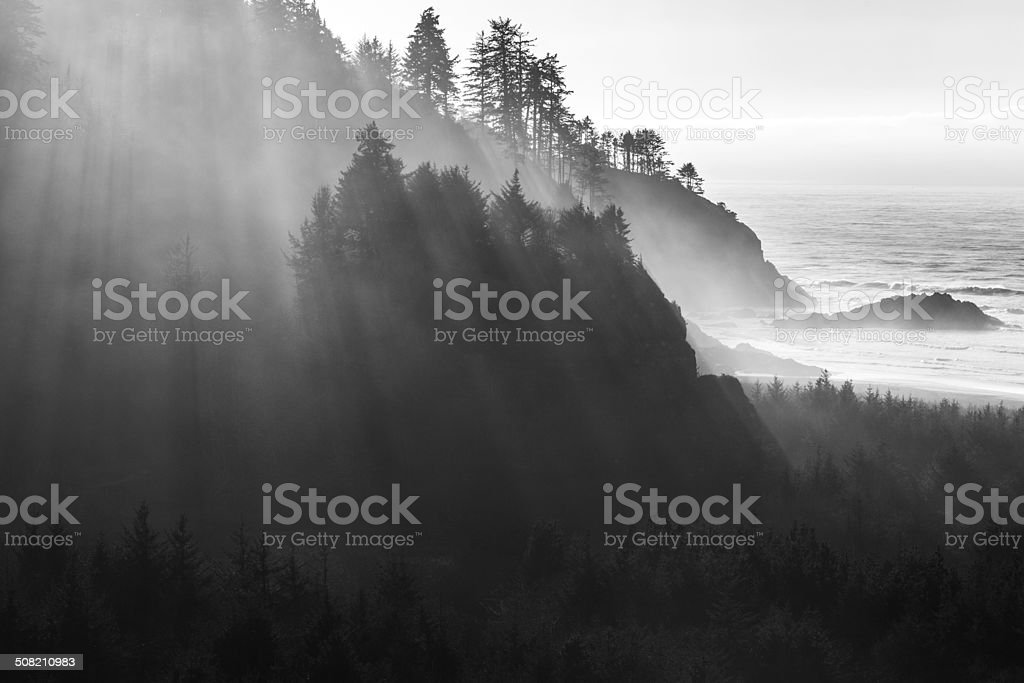Cape Disappointment stock photo