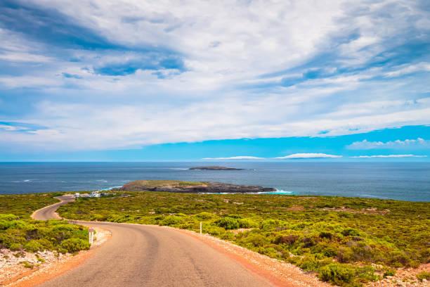 Cape Du Couedic Straße in Richtung Admirals Arch Aussichtsstätte – Foto