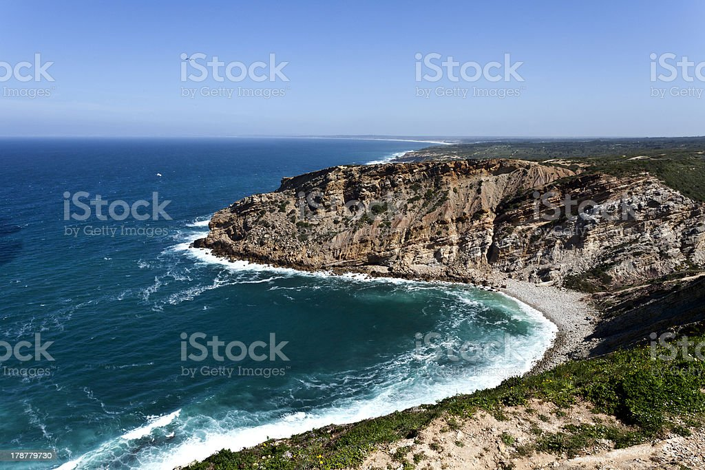 Cape Espichel, Portugal royalty-free stock photo