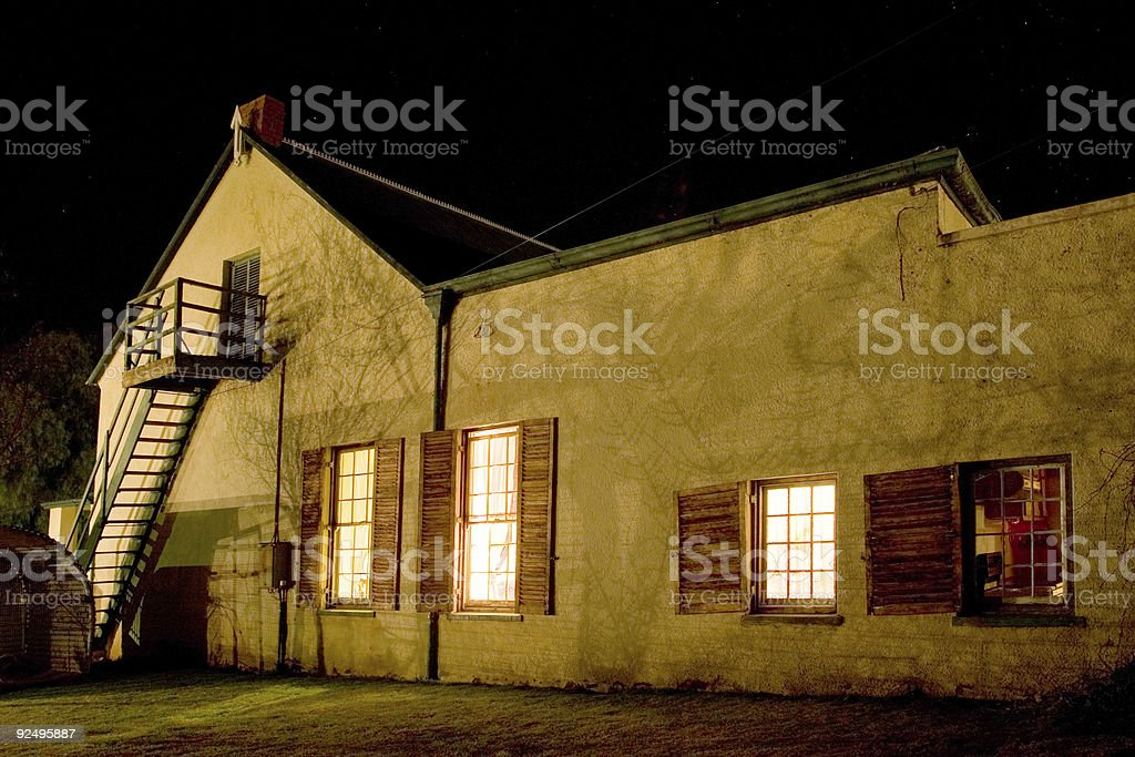 Cape - Farm House #2 royalty-free stock photo