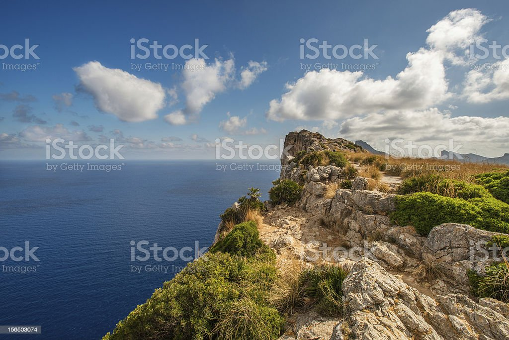 Cape Formentor royalty-free stock photo
