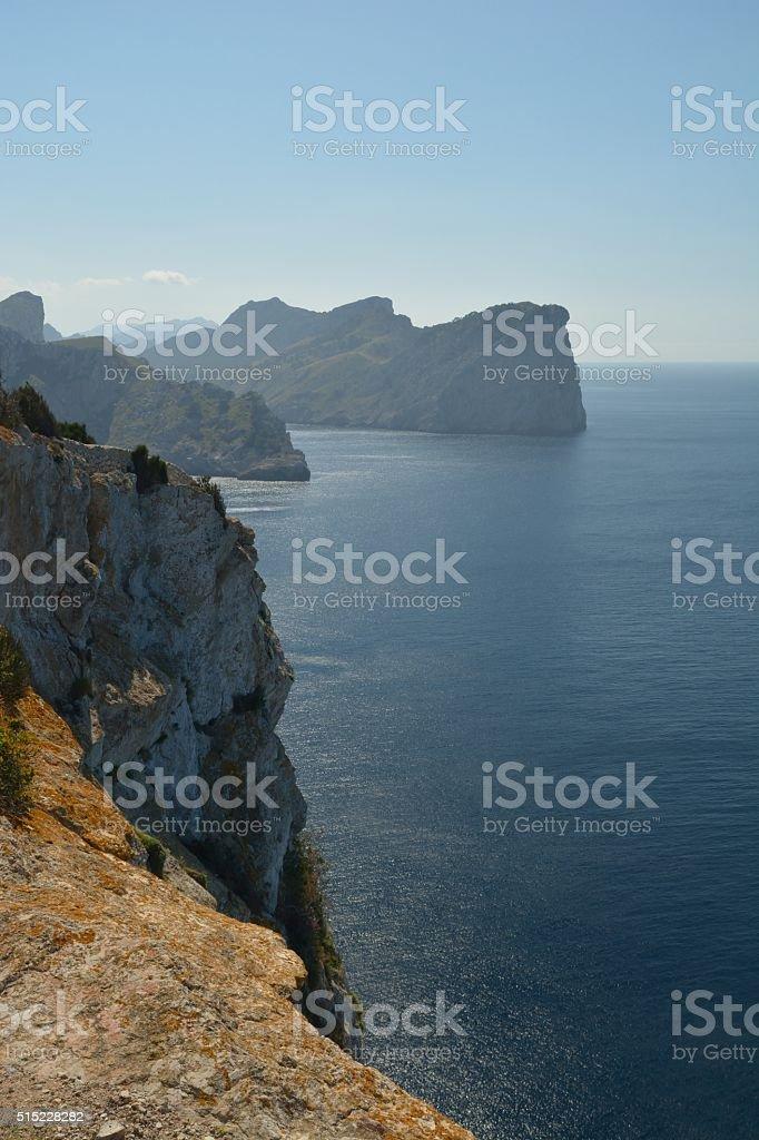 Cape Formentor (Majorca,Spain) stock photo