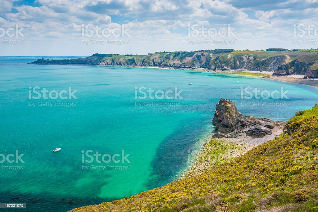 Cape Frehel, Bretagne royalty-free stock photo