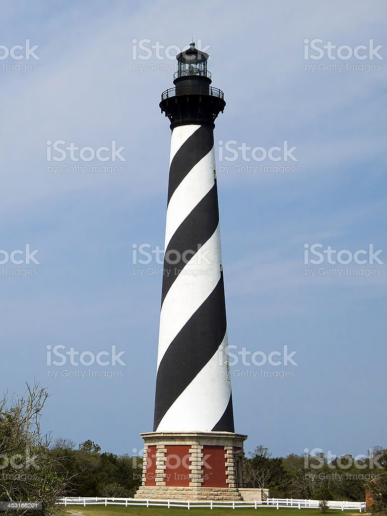 Cape Hatteras Lighthouse, North Carolina stock photo