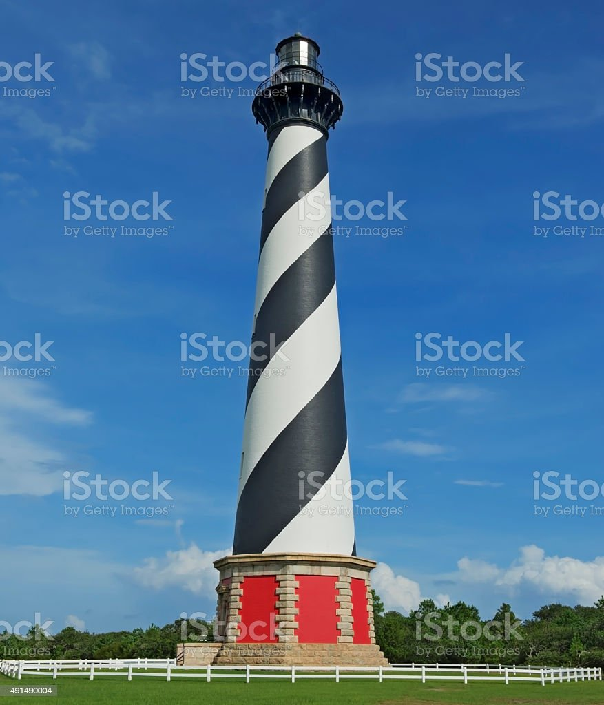 Cape Hatteras Lighthouse stock photo